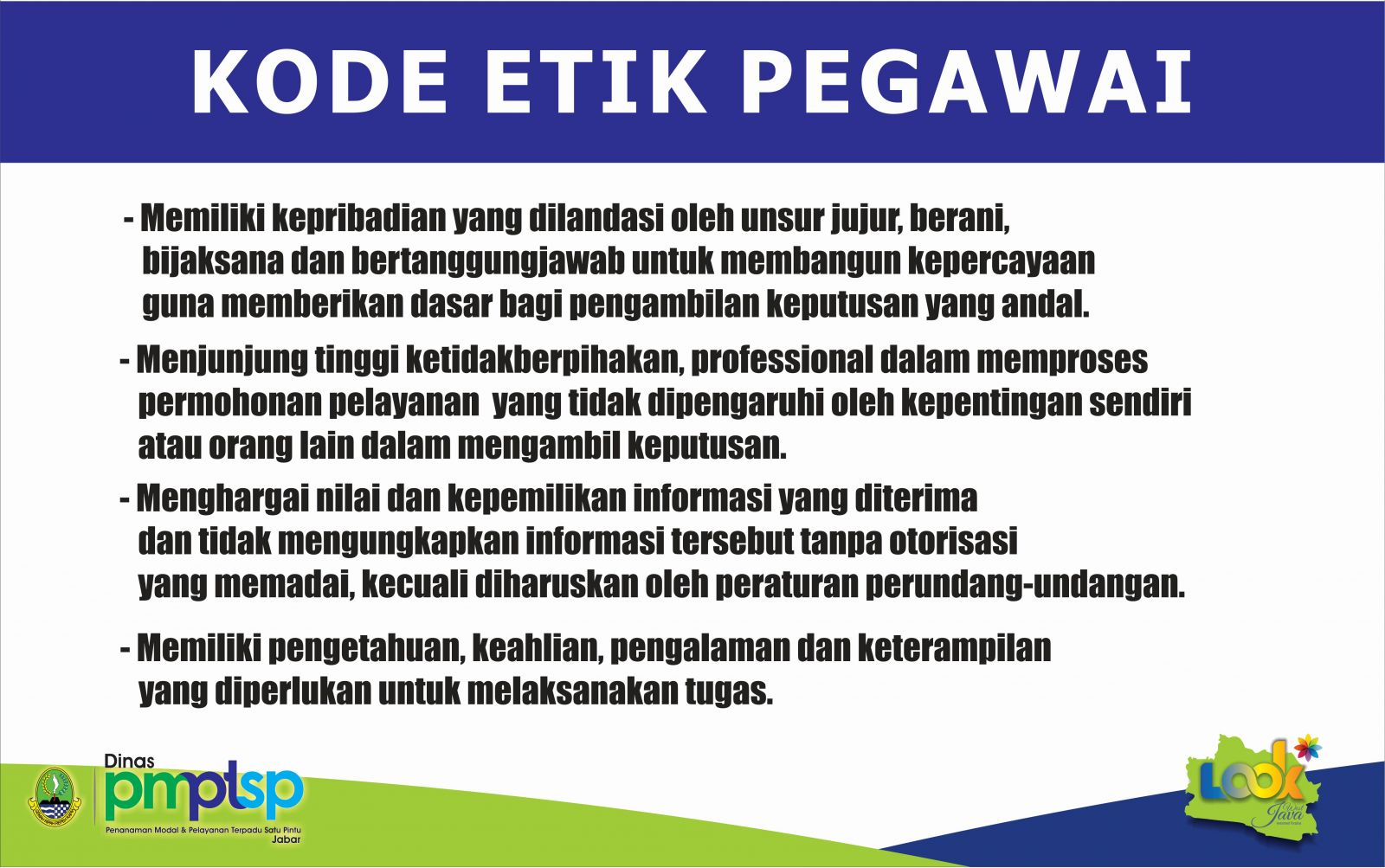 Kode Etik Pegawai